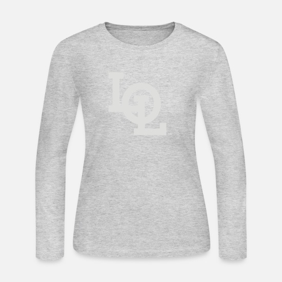 Game Long-Sleeve Shirts - LOL - Women's Jersey Longsleeve Shirt gray