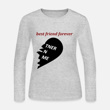 HALF hart friend - Women's Jersey Longsleeve Shirt