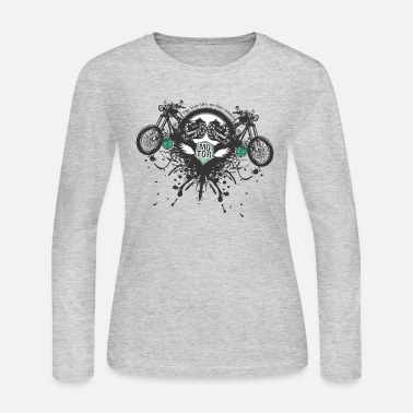 Motor Motor - Women's Long Sleeve Jersey T-Shirt
