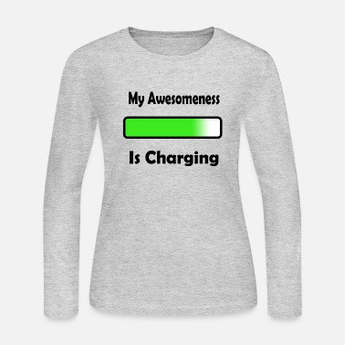 awesomenessgreen - Women's Jersey Longsleeve Shirt