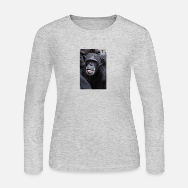 Chimpanzee Chimpanzee - Women's Long Sleeve Jersey T-Shirt