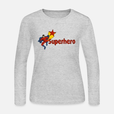 Superheroes Superhero - Women's Long Sleeve Jersey T-Shirt