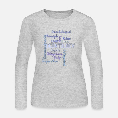 Ethics ethics quotes - Women's Jersey Longsleeve Shirt