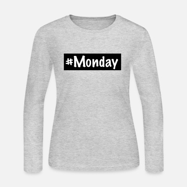 Monday Monday - Women's Long Sleeve Jersey T-Shirt