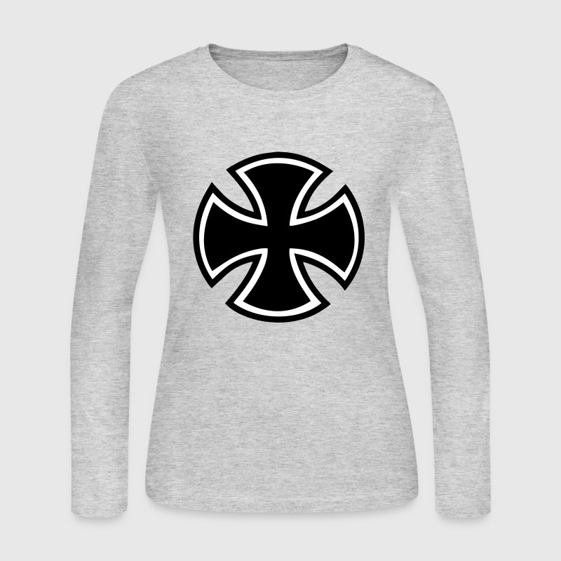 Iron Cross - Women's Long Sleeve Jersey T-Shirt
