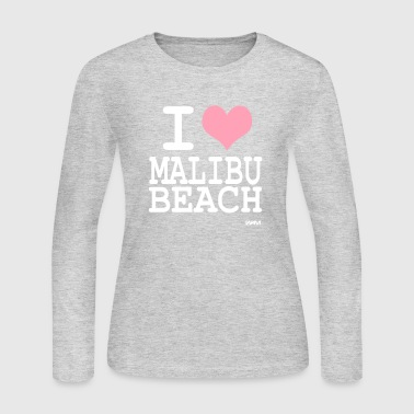 i love malibu by wam - Women's Long Sleeve Jersey T-Shirt