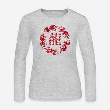 Boat Dragon - Women's Long Sleeve Jersey T-Shirt