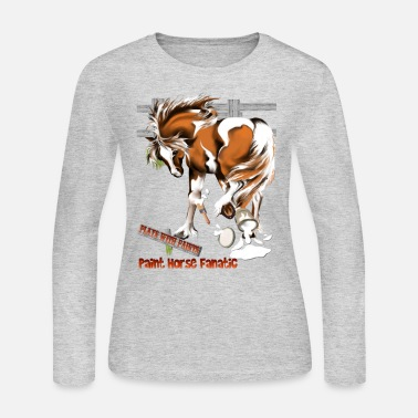 Latex Plays With Paints - Women's Long Sleeve Jersey T-Shirt