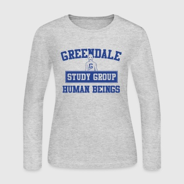 Greendale Study Group - Women's Long Sleeve Jersey T-Shirt