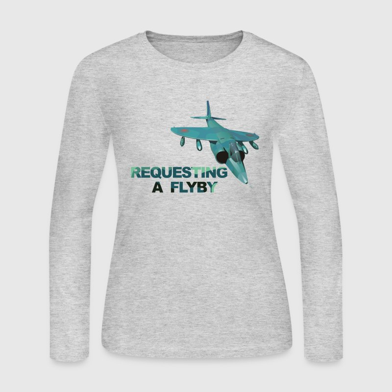 Top Gun Flyby - Women's Long Sleeve Jersey T-Shirt