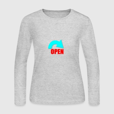 Open open - Women's Long Sleeve Jersey T-Shirt