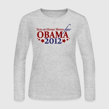 Moms for Obama 2012 - Women's Long Sleeve Jersey T-Shirt