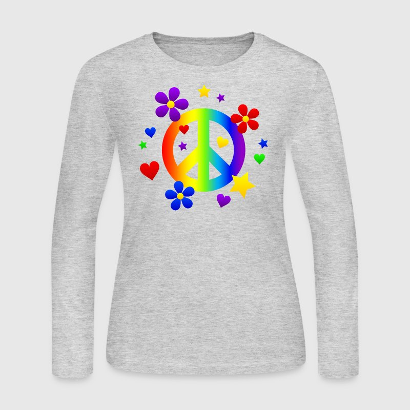 Peace for All - Women's Long Sleeve Jersey T-Shirt