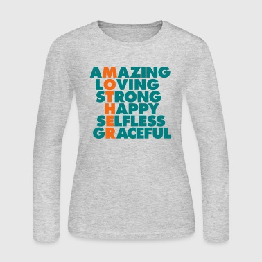MOTHER IS.... - Women's Long Sleeve Jersey T-Shirt
