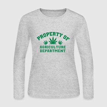 Agriculture Department - Women's Long Sleeve Jersey T-Shirt