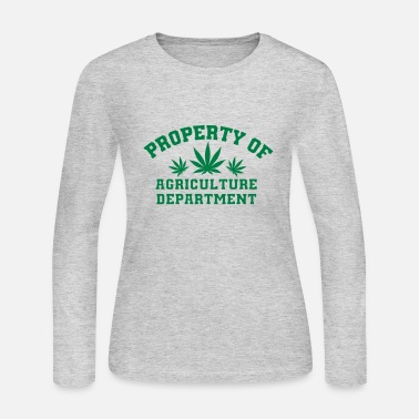 Agriculture Agriculture Department - Women's Long Sleeve Jersey T-Shirt