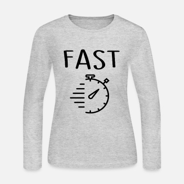 Fast Fast - Women's Long Sleeve Jersey T-Shirt