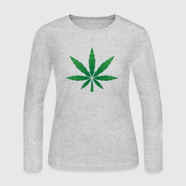 cannabis - Women's Long Sleeve Jersey T-Shirt