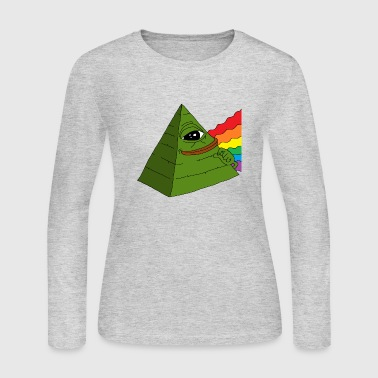Pepe Illuminati pepe - Women's Long Sleeve Jersey T-Shirt