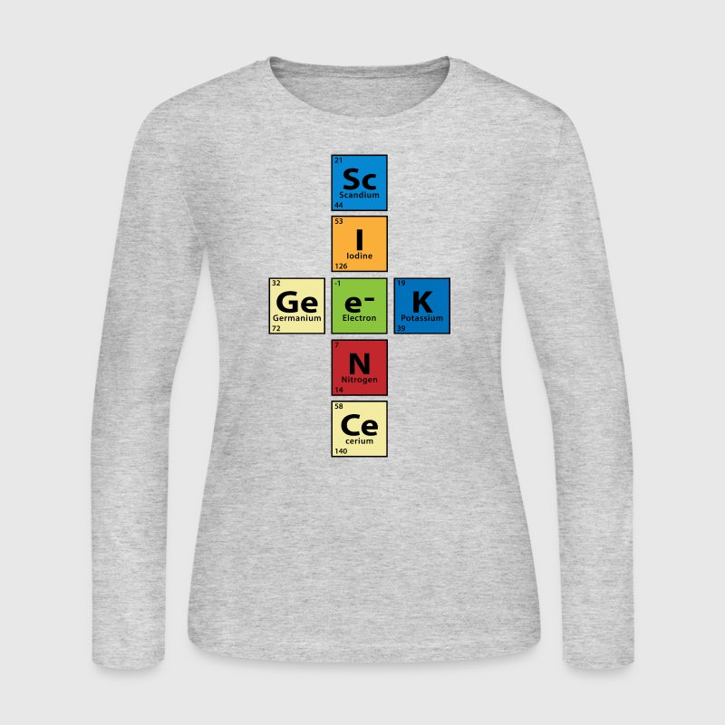 Science Geek - Women's Long Sleeve Jersey T-Shirt