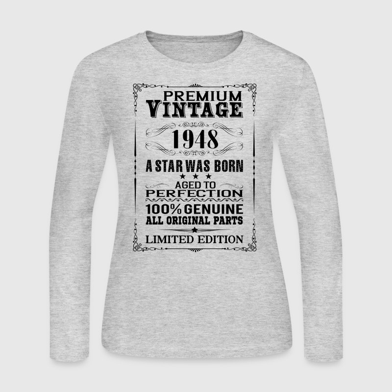 PREMIUM VINTAGE 1948 - Women's Long Sleeve Jersey T-Shirt