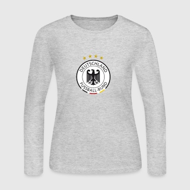 Soccer german sign - Women's Long Sleeve Jersey T-Shirt