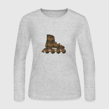 Rust Inline skate - Women's Long Sleeve Jersey T-Shirt
