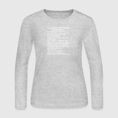 Firefighter - Women's Long Sleeve Jersey T-Shirt