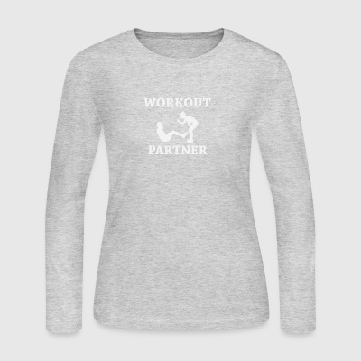 Workout Partner - Women's Long Sleeve Jersey T-Shirt
