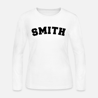 Smith smith name surname sports jersey curved - Women's Jersey Longsleeve Shirt