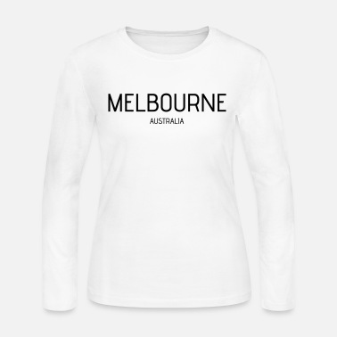Melbourne melbourne - Women's Long Sleeve Jersey T-Shirt