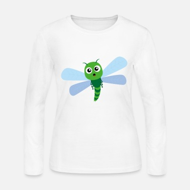 dd548662 Adorable Green Dragonfly Cartoon Women's Premium T-Shirt | Spreadshirt