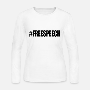 Freedom Free speech - Women's Jersey Longsleeve Shirt