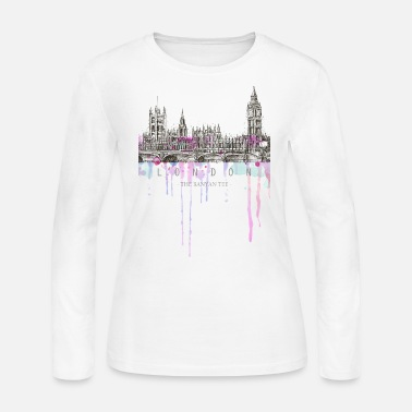 City London - The City of Dreams - Women's Long Sleeve Jersey T-Shirt