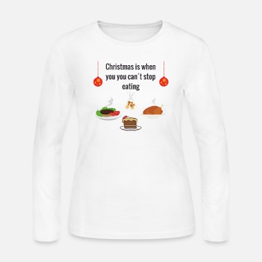 Meal Christmas meal - Women's Long Sleeve Jersey T-Shirt