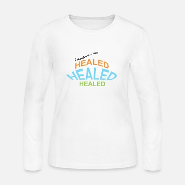 Healing healed - Women's Long Sleeve Jersey T-Shirt
