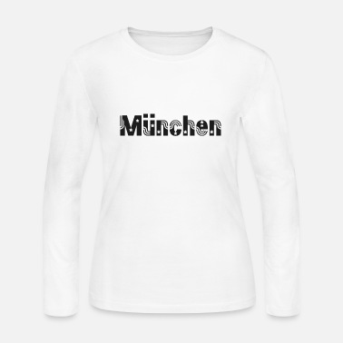 Munich München - Munich - Women's Long Sleeve Jersey T-Shirt