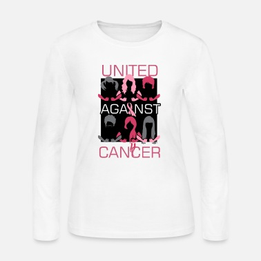 Mastectomy Breast Cancer Awareness Art For Warrior Women Light - Women's Jersey Longsleeve Shirt
