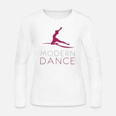 Modern Modern Dance - Women's Long Sleeve Jersey T-Shirt