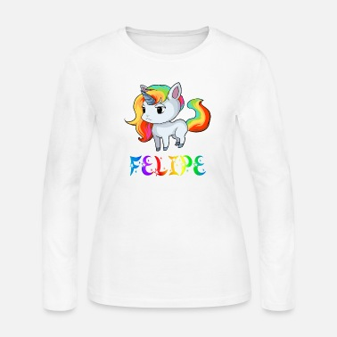 Felipe Birth Felipe Unicorn - Women's Jersey Longsleeve Shirt