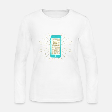 Mobile Phone Generation mobile phone - Women's Jersey Longsleeve Shirt