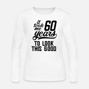 60 Years 60 years - Women's Long Sleeve Jersey T-Shirt