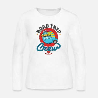 Spring Break Road Trip Crew Family Vacation - Women's Jersey Longsleeve Shirt