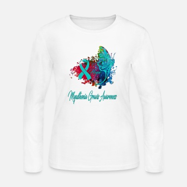 Myasthenia gravis awarenessa - Women's Jersey Longsleeve Shirt