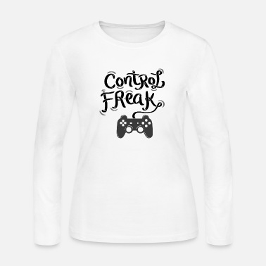 Gaming gaming control freak gamer gift - Women's Jersey Longsleeve Shirt