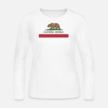 California Republic Flag CALIFORNIA REPUBLIC FLAG - Women's Jersey Longsleeve Shirt