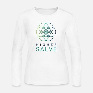 Higher Salve Tri Colour - Women's Jersey Longsleeve Shirt