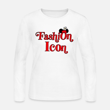 Fashion Fashion Icon - Women's Jersey Longsleeve Shirt
