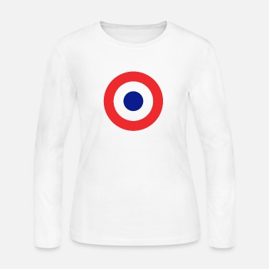 Royal Roundel British - Women's Long Sleeve Jersey T-Shirt