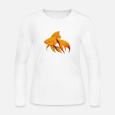 Goldfish Goldfish - Women's Long Sleeve Jersey T-Shirt